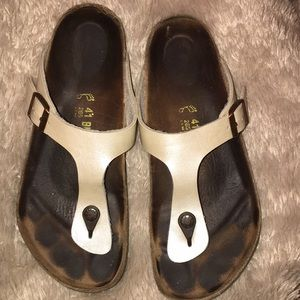Birkenstock Thong Sandals size 41 (US 10-10.5)